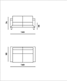 Strange Features Available As Armchair 2 2 5 3 And 3 5 Seat Sofa Pabps2019 Chair Design Images Pabps2019Com